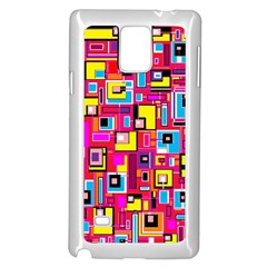 File Digital Disc Red Yellow Rainbow Samsung Galaxy Note 4 Case (white)