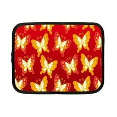 Butterfly Gold Red Yellow Animals Fly Netbook Case (small)  by Alisyart