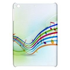 Color Musical Note Waves Apple Ipad Mini Hardshell Case