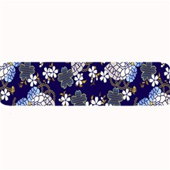 Butterfly Iron Chains Blue Purple Animals White Fly Floral Flower Large Bar Mats by Alisyart