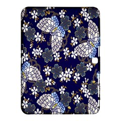 Butterfly Iron Chains Blue Purple Animals White Fly Floral Flower Samsung Galaxy Tab 4 (10 1 ) Hardshell Case  by Alisyart