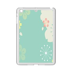 Flower Blue Pink Yellow Ipad Mini 2 Enamel Coated Cases