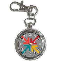 Arrows Center Inside Middle Key Chain Watches