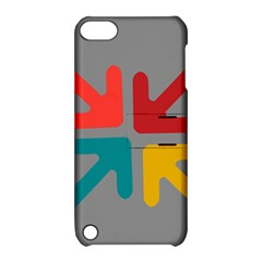 Arrows Center Inside Middle Apple Ipod Touch 5 Hardshell Case With Stand by Amaryn4rt