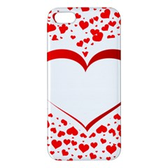Love Red Hearth Iphone 5s/ Se Premium Hardshell Case by Amaryn4rt