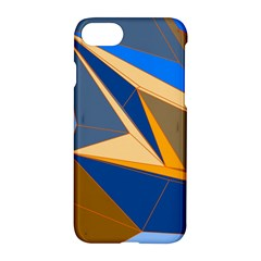Abstract Background Pattern Apple Iphone 7 Hardshell Case by Amaryn4rt