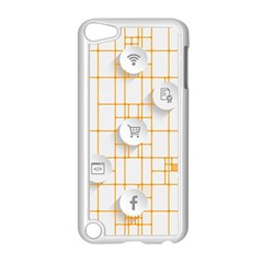 Icon Media Social Network Apple Ipod Touch 5 Case (white) by Amaryn4rt