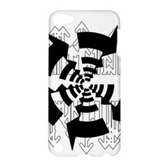 Arrows Top Below Circuit Parts Apple Ipod Touch 5 Hardshell Case by Amaryn4rt