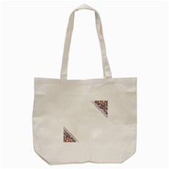 Floral Ornament Baby Girl Design Tote Bag (cream)
