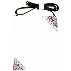 Floral Ornament Baby Girl Design Shoulder Sling Bags by Amaryn4rt