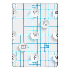 Icon Media Social Network Ipad Air Hardshell Cases by Amaryn4rt