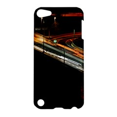 Highway Night Lighthouse Car Fast Apple Ipod Touch 5 Hardshell Case by Amaryn4rt