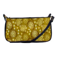 Flower Arrangements Season Gold Shoulder Clutch Bags by Alisyart
