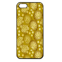 Flower Arrangements Season Gold Apple Iphone 5 Seamless Case (black)