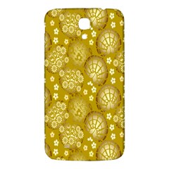 Flower Arrangements Season Gold Samsung Galaxy Mega I9200 Hardshell Back Case by Alisyart
