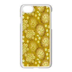 Flower Arrangements Season Gold Apple Iphone 7 Seamless Case (white)