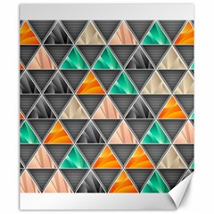 Abstract Geometric Triangle Shape Canvas 20  X 24   by Amaryn4rt