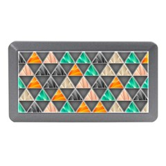 Abstract Geometric Triangle Shape Memory Card Reader (mini) by Amaryn4rt