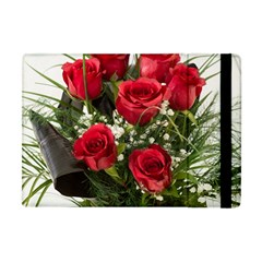 Red Roses Roses Red Flower Love Apple Ipad Mini Flip Case by Amaryn4rt