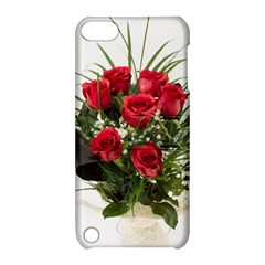 Red Roses Roses Red Flower Love Apple Ipod Touch 5 Hardshell Case With Stand by Amaryn4rt