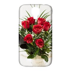 Red Roses Roses Red Flower Love Samsung Galaxy S4 Classic Hardshell Case (pc+silicone) by Amaryn4rt