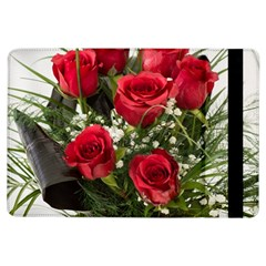 Red Roses Roses Red Flower Love Ipad Air Flip