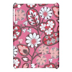 Flower Floral Red Blush Pink Apple Ipad Mini Hardshell Case