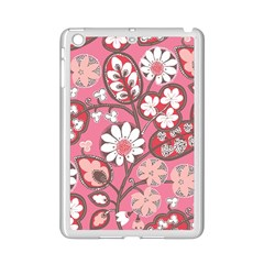 Flower Floral Red Blush Pink Ipad Mini 2 Enamel Coated Cases by Alisyart