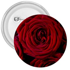 Roses Flowers Red Forest Bloom 3  Buttons