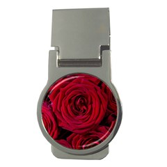 Roses Flowers Red Forest Bloom Money Clips (Round)