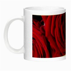 Roses Flowers Red Forest Bloom Night Luminous Mugs