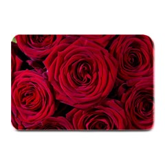 Roses Flowers Red Forest Bloom Plate Mats