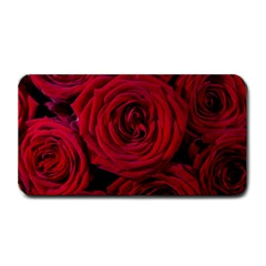 Roses Flowers Red Forest Bloom Medium Bar Mats