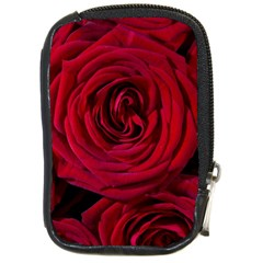 Roses Flowers Red Forest Bloom Compact Camera Cases