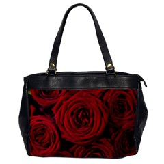Roses Flowers Red Forest Bloom Office Handbags