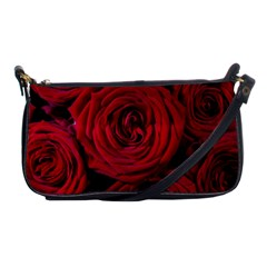 Roses Flowers Red Forest Bloom Shoulder Clutch Bags