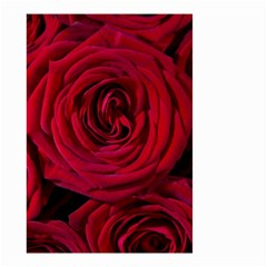 Roses Flowers Red Forest Bloom Small Garden Flag (Two Sides)