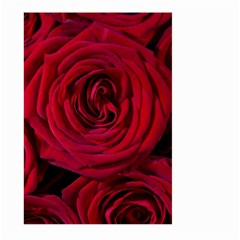 Roses Flowers Red Forest Bloom Large Garden Flag (Two Sides)
