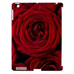 Roses Flowers Red Forest Bloom Apple iPad 3/4 Hardshell Case (Compatible with Smart Cover)