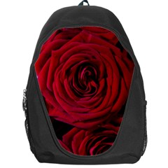 Roses Flowers Red Forest Bloom Backpack Bag