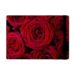 Roses Flowers Red Forest Bloom Apple iPad Mini Flip Case
