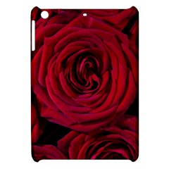 Roses Flowers Red Forest Bloom Apple iPad Mini Hardshell Case