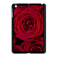 Roses Flowers Red Forest Bloom Apple iPad Mini Case (Black)