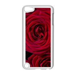Roses Flowers Red Forest Bloom Apple iPod Touch 5 Case (White)