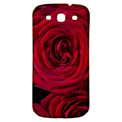 Roses Flowers Red Forest Bloom Samsung Galaxy S3 S III Classic Hardshell Back Case