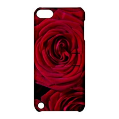 Roses Flowers Red Forest Bloom Apple iPod Touch 5 Hardshell Case with Stand