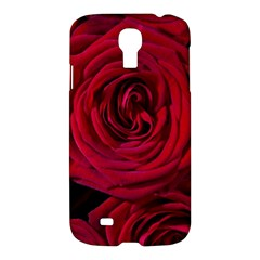 Roses Flowers Red Forest Bloom Samsung Galaxy S4 I9500/I9505 Hardshell Case