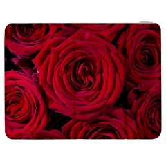 Roses Flowers Red Forest Bloom Samsung Galaxy Tab 7  P1000 Flip Case