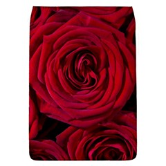 Roses Flowers Red Forest Bloom Flap Covers (L)