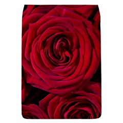 Roses Flowers Red Forest Bloom Flap Covers (S)